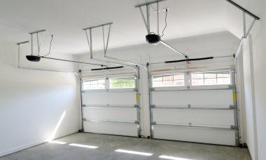 the garage door